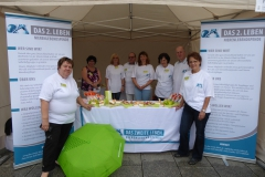August 2016: Aktionstag Organspende auf dem Dresdner Stadtfest