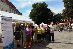August 2016: Aktionstag Organspende in Rostock