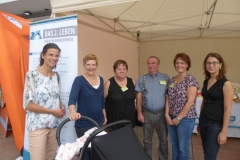 August 2017: Aktionstag Organspende auf dem Dresdner Stadtfest CANALETTO