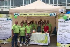 August 2019: Aktionstag Organspende auf dem Dresdner Stadtfest CANALETTO