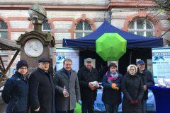 Dezember 2017: Engagiert für Organspende in Schwerin