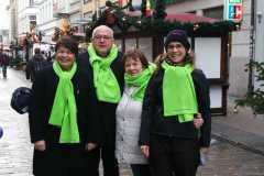 Dezember 2018: Aktionstag Organspende in Schwerin
