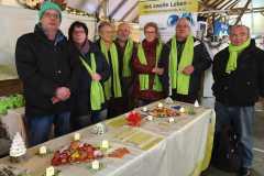Dezember 2019: Aktionstage Organspende Weihnachtmarkt auf Gut Basthorst
