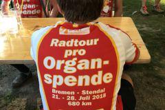Juli 2018: TransDia Radtour-pro-Organspende
