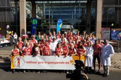 Juli 2019: Radtour pro Organspende, Rund um´s Ruhrgebiet