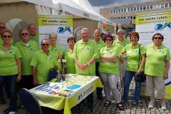 Juni 2018: Tag der Organspende in Saarbrücken