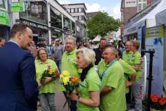 Juni 2019: Tag der Organspende in Kiel
